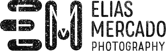 Elias Mercado Photography logo black