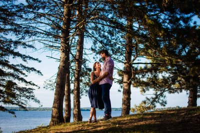 Constance and Alessandro Engagement Session at Andrew Haydon Park Ottawa
