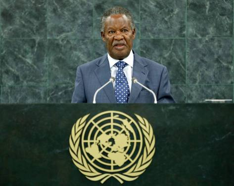 The Late Michael Chilufya Sata