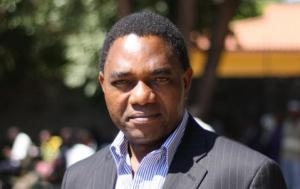 Politician and businessman Hakainde Hichilema