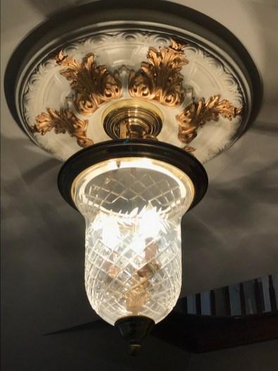 Light Ring Fixture Gold Embellishment