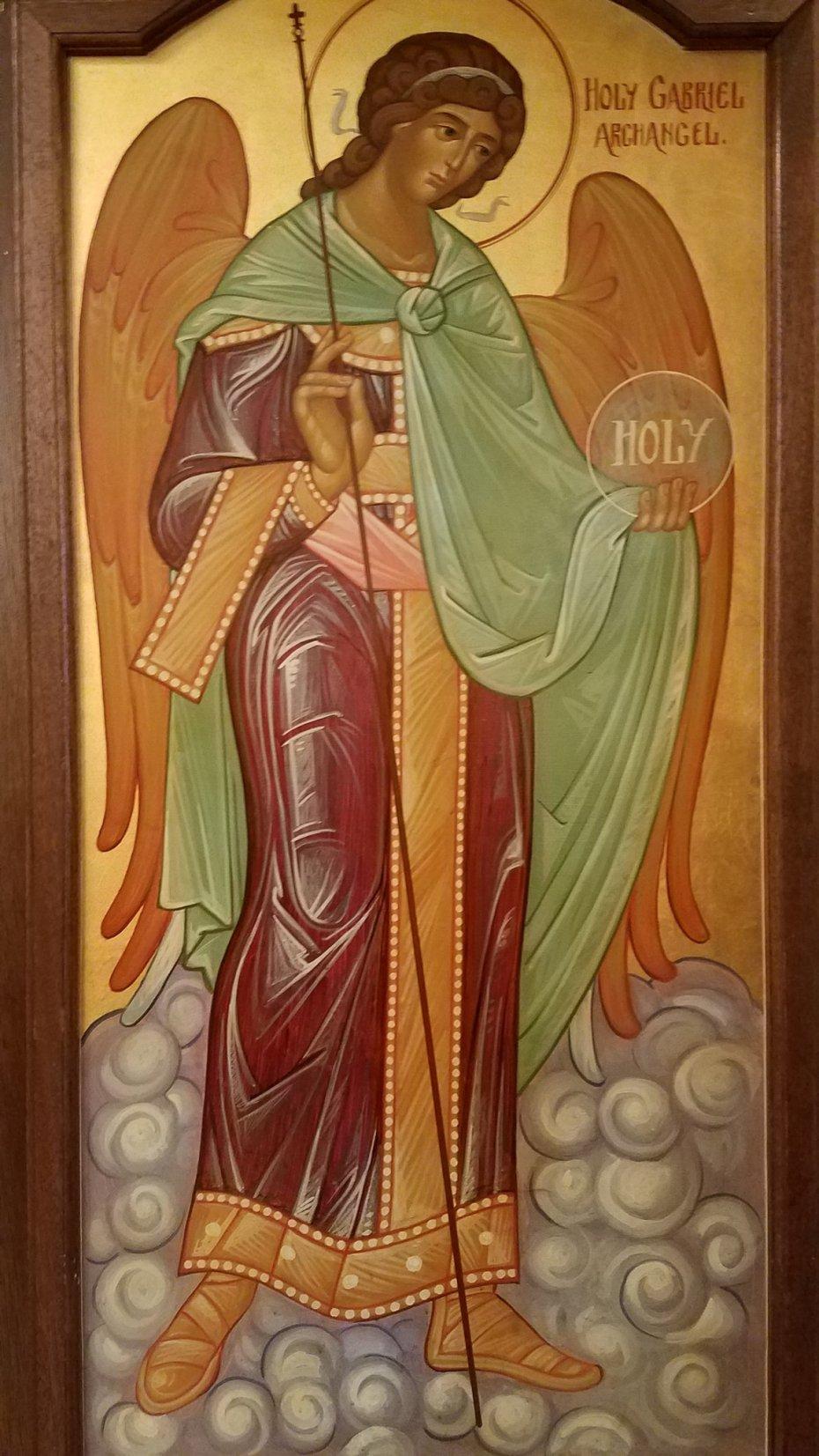 Saint George Icon Restoration