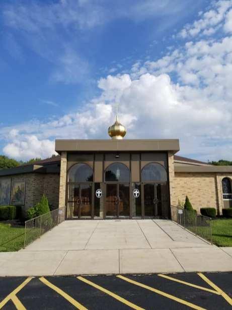 Saints Peter & Paul Orthodox Church Dome