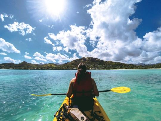 oahu, hawaii, kayaking