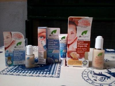 Cosmetici naturali bioattivi Dr. Organic