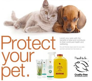 ALOE VERA FOREVER FOR PETS