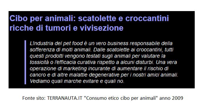 Pet-food di qualità