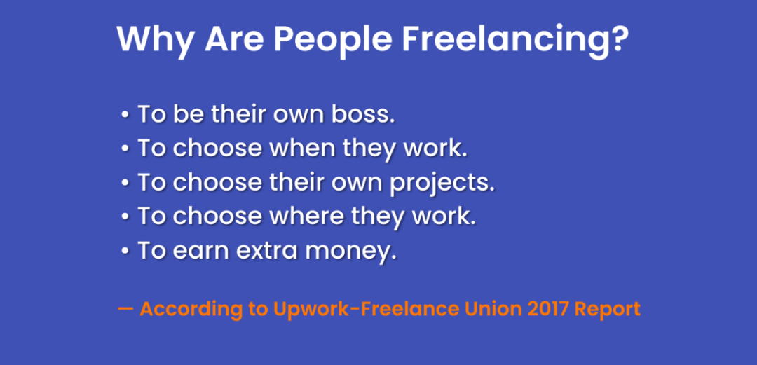 Why Are People Freelancing