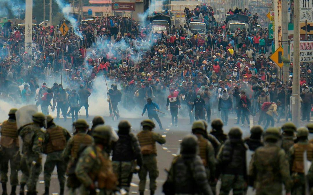 La impunidad policial que une a los gobiernos de Piñera, Añez y Bolsonaro