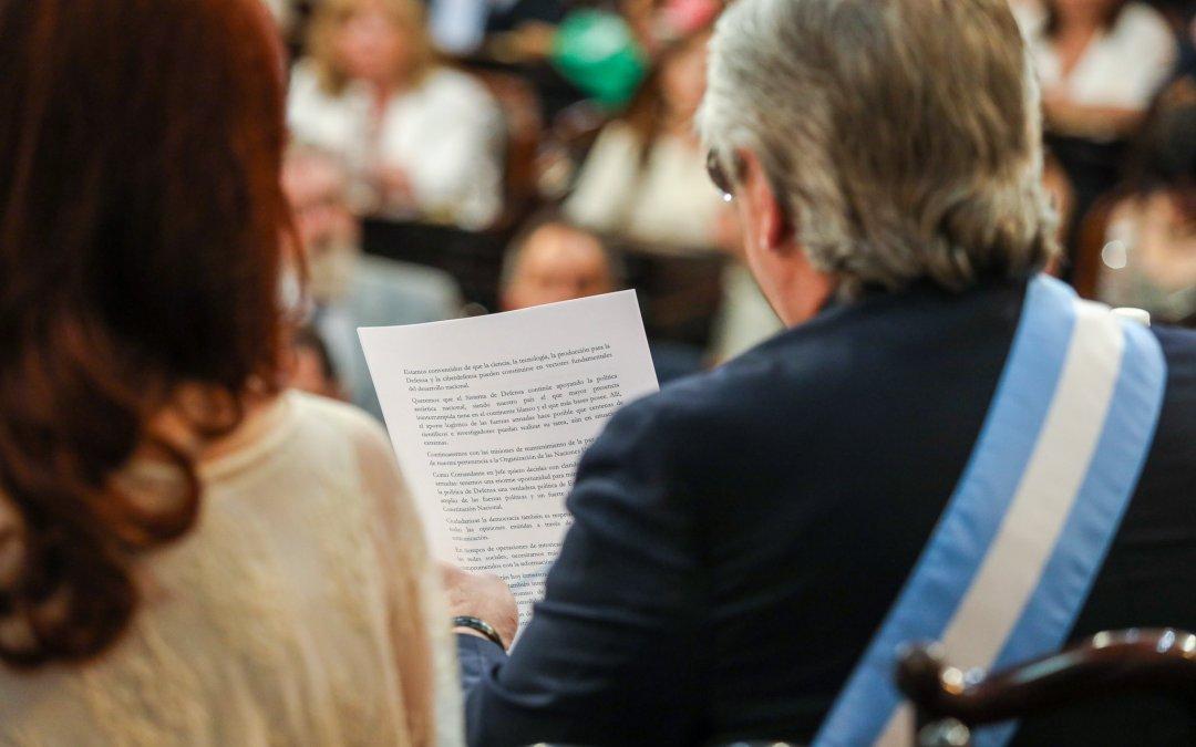 Las 11 definiciones políticas claves en el primer discurso de Alberto Fernández