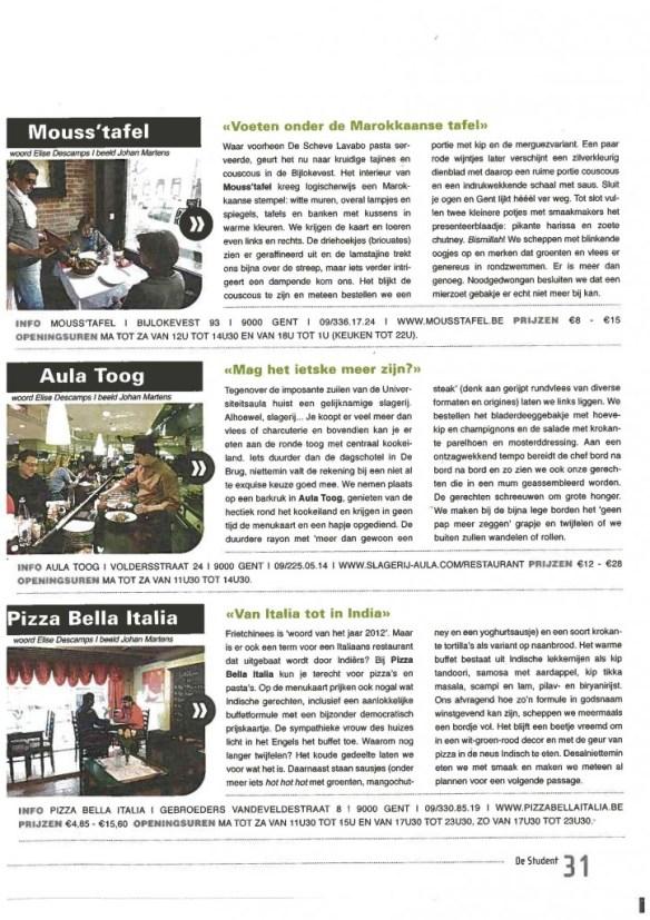 De Student - feb 2013 part 2