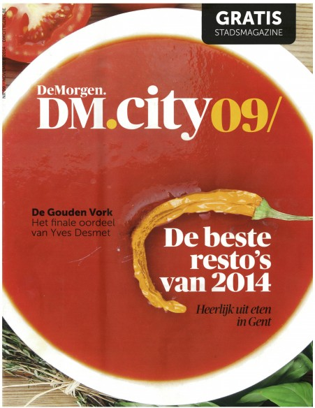 DM City Gent restogids - cover