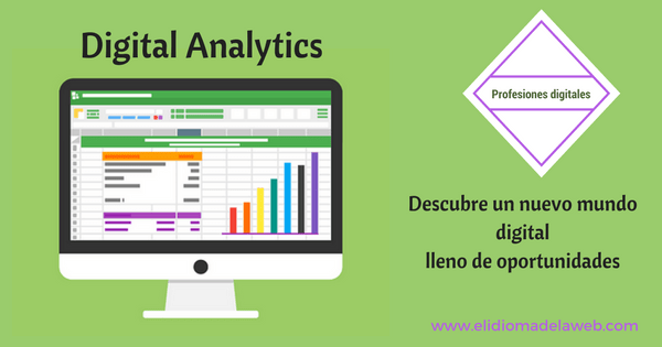 Profesiones digitales: Digital Analytics