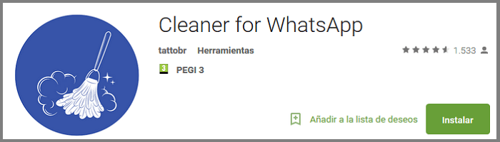 Descarga Cleaner Whatsapp