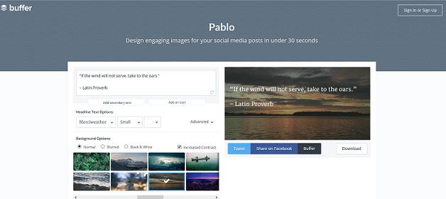 Crea imágenes rápido y fácil para tus redes sociales con Pablo