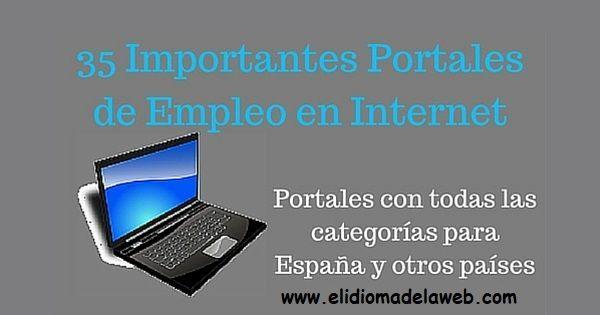 portales de empleo en Internet