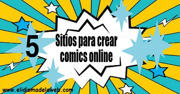 Utilidades online para crear cómics