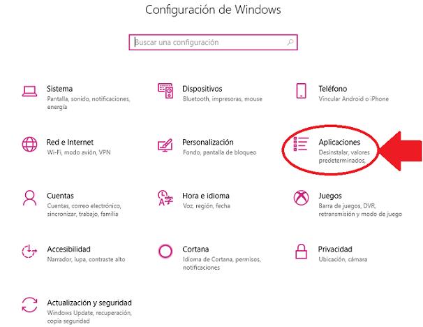 inicio de Windows 10 de forma sencilla