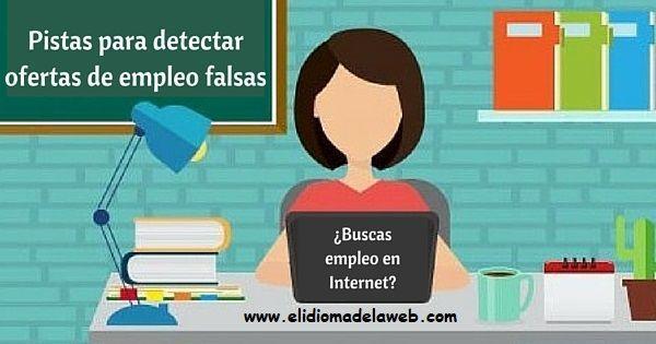Cómo detectar ofertas de empleo falsas