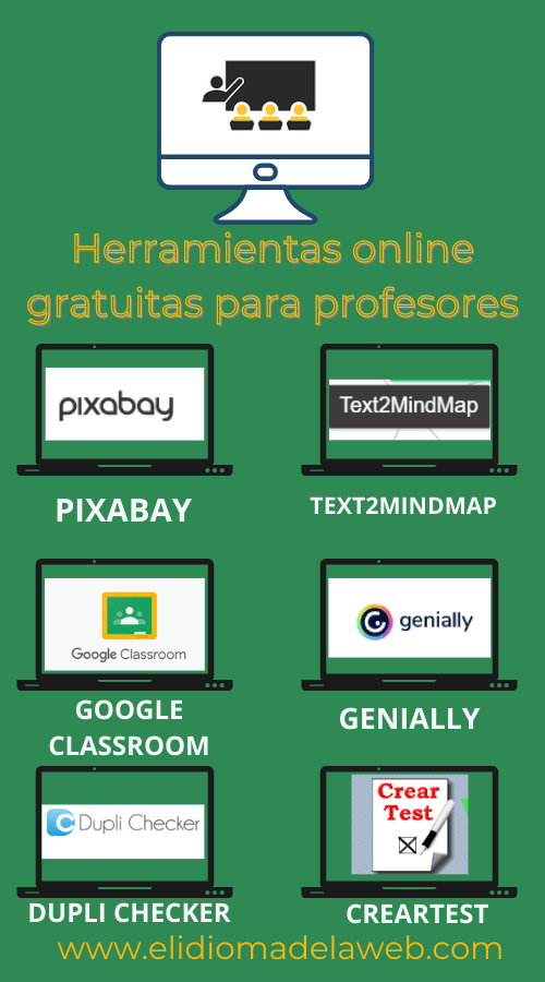 Herramientas online gratuitas para profesores