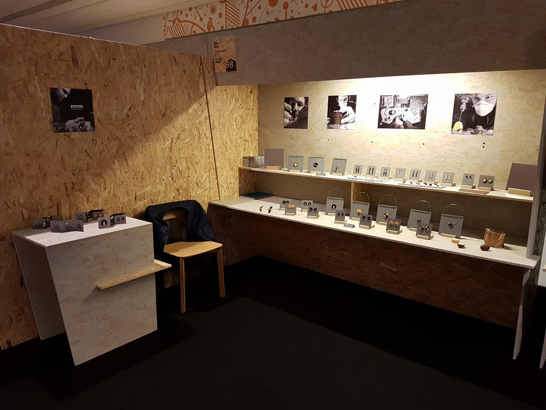 Salon Internationale des Métiers d'Arts 2017_Stand élieBois