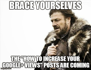Brace Yourselves for Google+ Views
