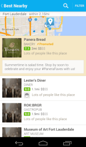 The New FourSquare Highlights the Best Nearby Locations