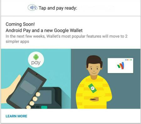 The Original Google Wallet App Warned Us About the New Google Wallet App