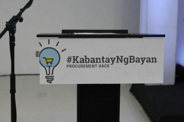 #kabantayngbayan #philgeps #hackathon