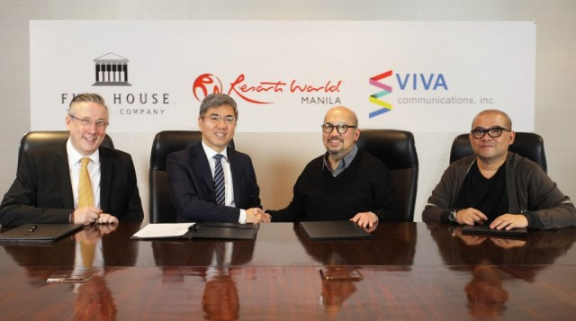 Resorts World Manila and VIVA partnership