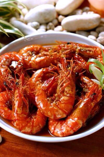 garlic buttered shrimp