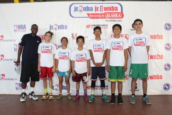 JR NBA / JR WNBA training camp