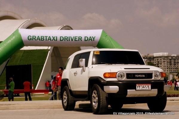 GrabCar 1st year anniversary