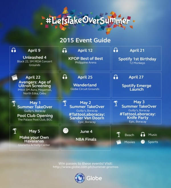 Let's take over summer event guide