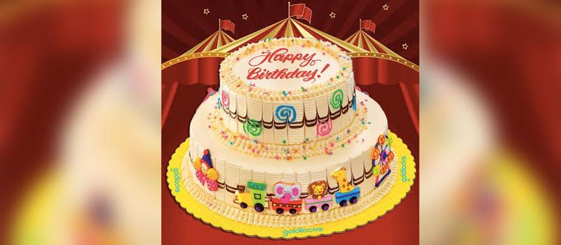 Fabulous Goldilocks Step Right Up To The Carnival Birthday Cake Funny Birthday Cards Online Alyptdamsfinfo