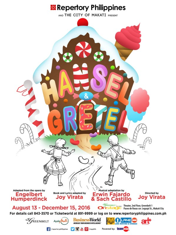 Repertory has a sweet treat for kids and the kids at heart with Hansel and Gretel, the Brothers Grimm classic about siblings that eat a witch's candy house.