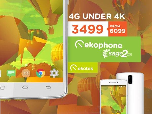 Ekotek Ekophone Sage 2 LTE promo