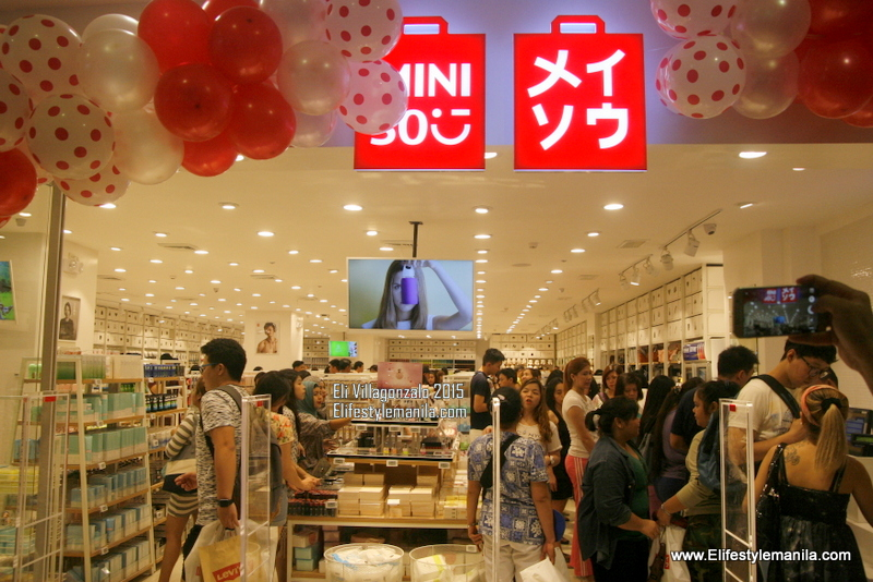Miniso Japan store opens in the Philippines