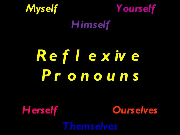 Để diễn tả những hành động do chính bản thân mình gây ra hoặc để nhấn mạnh hành động của chính mình, người ta thường dùng đại từ phản thân.