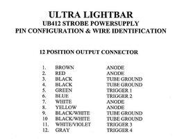 Whelen LFL Power Supply Wiring ELightbars