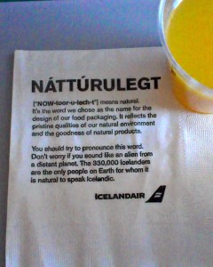 Icelandair - Communication à bord