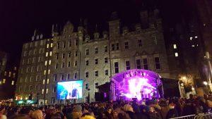 Street Party du Festival Hogmanay : concerts du 31 décembre