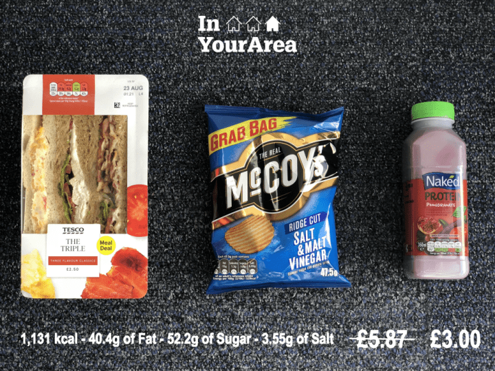 Meal Deal en Angleterre