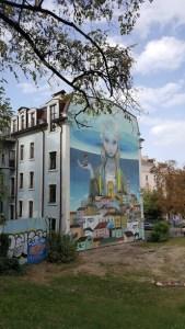"""Mur peint """"Revival of Ukraine"""" à Kiev"""