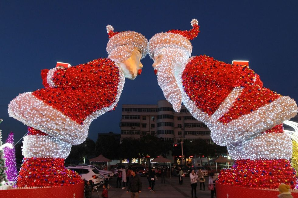 Mon Expérience Noël en Chine