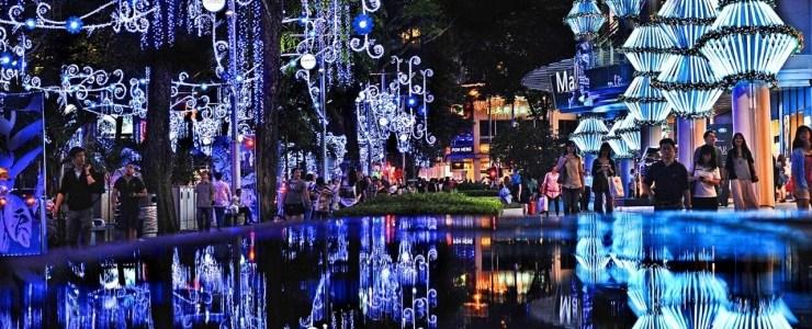 Mon Expérience Noël à Singapour