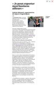 Reportage Le Parisien Brexit - ELI in England