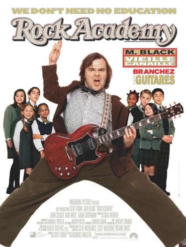 Titre français : Rock Academy