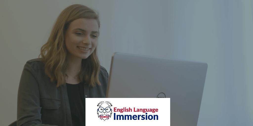 Cours d'anglais par visioconférence avec un native speaker