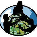 working-globe